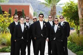 Major League Baseball player on wedding day