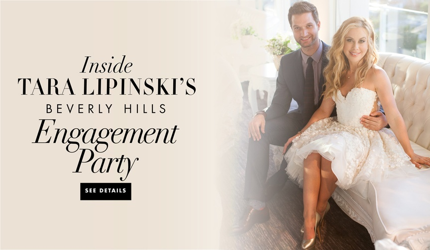 See more of Tara Lipinski's engagement party in Beverly Hills Mindy Weiss