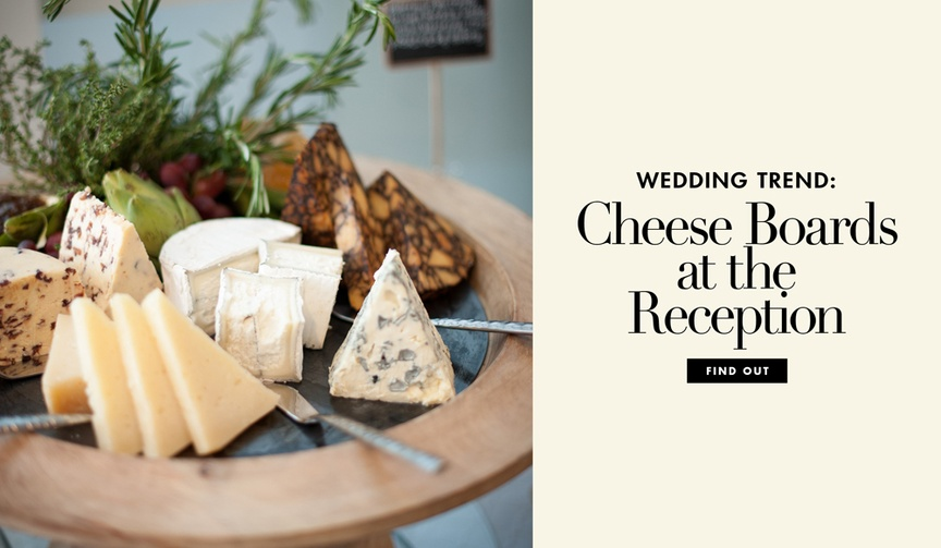 Discover how to have a delicious cheese board at your wedding cocktail hour or reception, and shop s