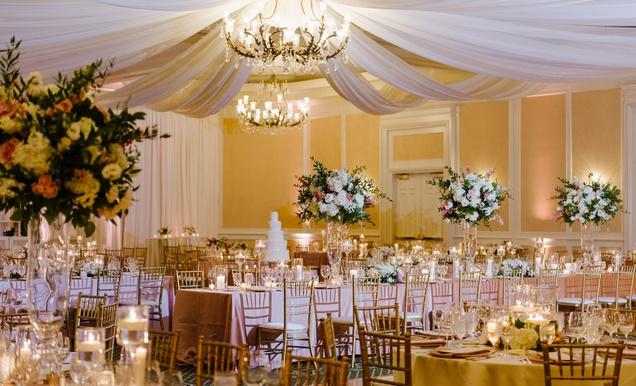 Catholic Ceremony + Classic Ballroom Reception in Charlotte, NC