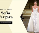 Get the look of Sofia Vergara's wedding dress