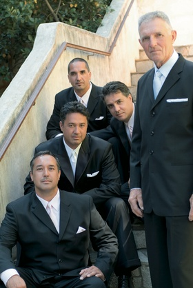 Ron Darling, former pitcher for the NY Mets, and his groomsmen