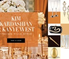 Wedding ideas and inspiration from Kim Kardashian and Kanye West's wedding