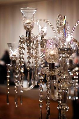 Elegant light fixture embellished with crystals