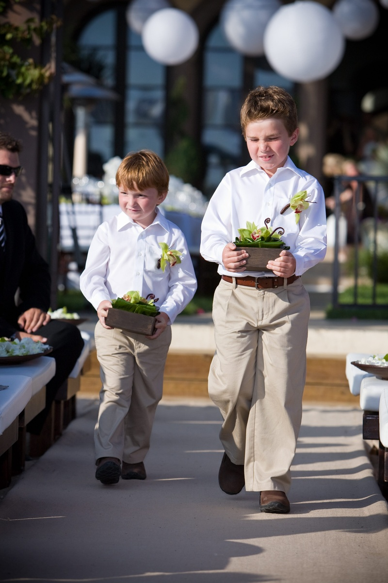 Flower Girls Ring Bearers Photos Beach Wedding Ring Bearers