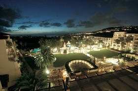 The St. Regis Monarch Beach at night