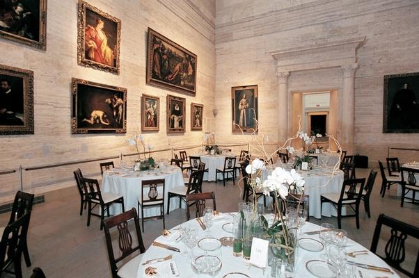 Museum of Fine Arts, Boston reception space