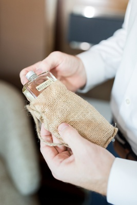 Wedding gift moonshine in burlap sack wedding gift ideas for grooms