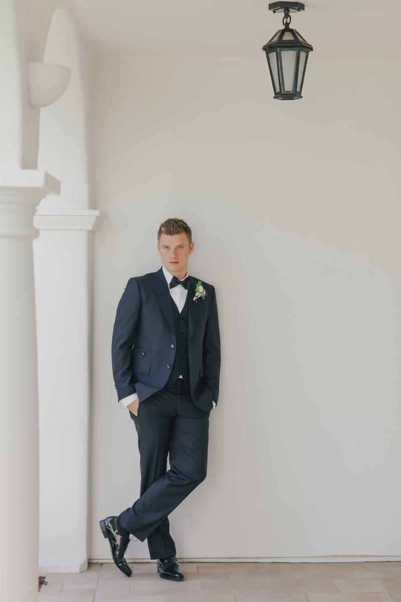 Grooms & Groomsmen Photos - Nick Carter in Wedding Attire ...