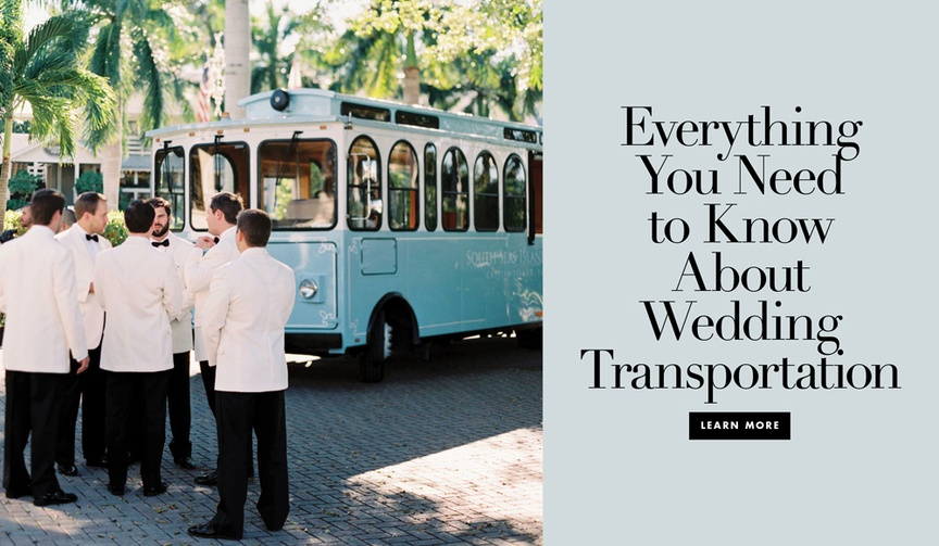 providing wedding transportation for your guests, shuttle service