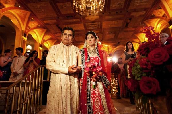 North Indian father-of-the-bride attire