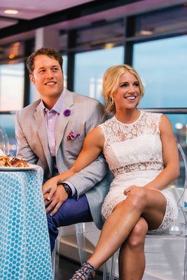 detriot lions quarterback matthew stafford kelly hall rehearsal dinner bride and groom portrait