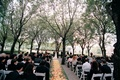 Wedding ceremony in the garden of Marie Gabrielle