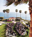 Oceanfront ceremony in Southern California
