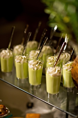 key lime dessert shooters
