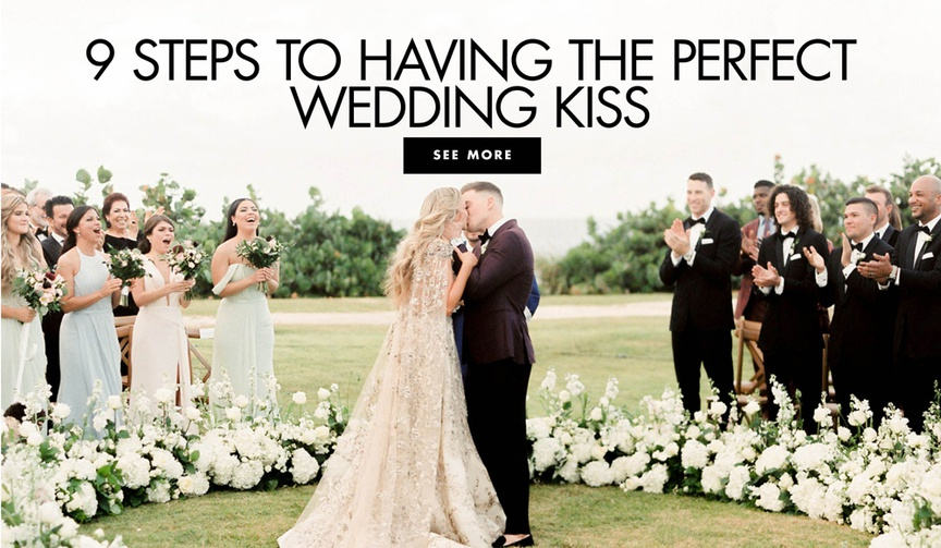 kiké hernandez and mariana vicente first kiss at wedding, how to have the perfect photo of your firs