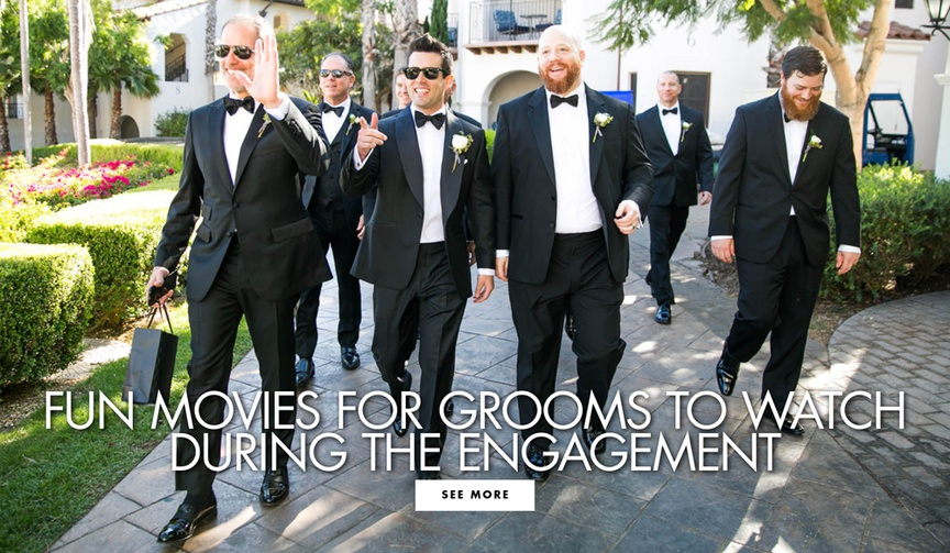 wedding movies for grooms to watch, guy-friendly wedding movies