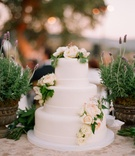 Wedding cake of Mark-Paul Gosselaar and wife