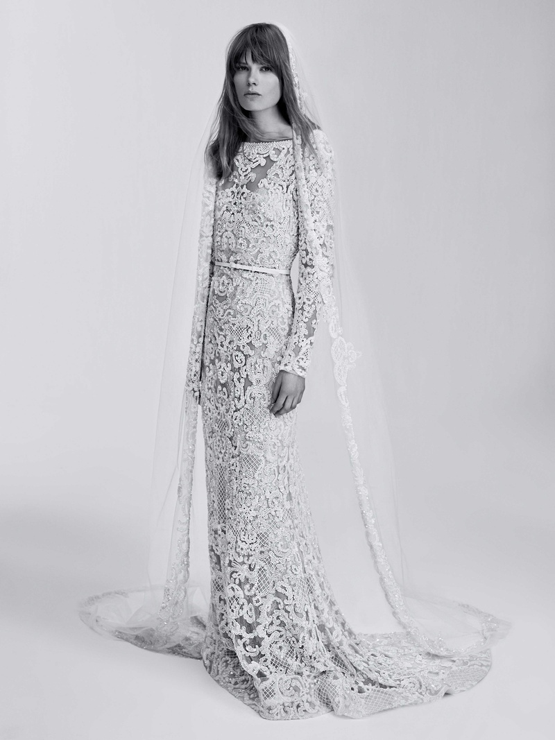 Modern Wedding Dresses from Elie Saab Bridal Spring 2017 - Inside ...