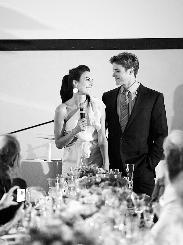 Bride To Be Gives Speech At Rehearsal Dinner