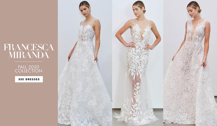 Francesca Miranda fall 2020 bridal collection wedding dresses