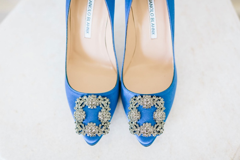 Wedding shoes bright blue royal blue heels crystal buckle wedding shoe ideas