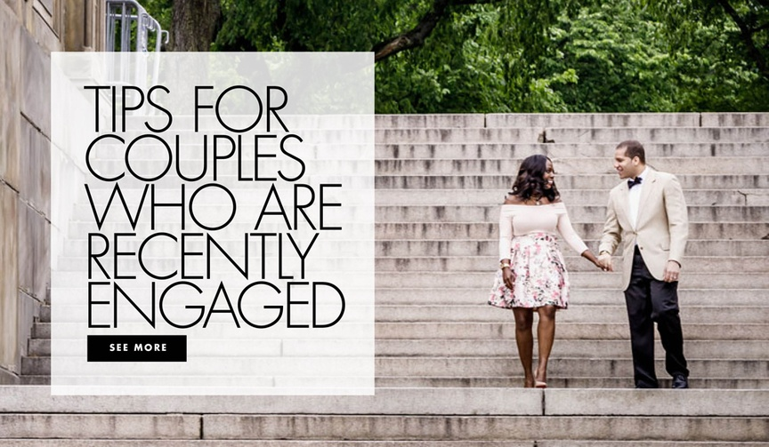 tips for couples who are recently engaged
