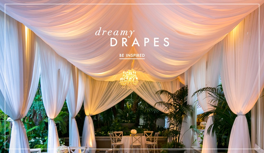 Wedding drapery and wedding drapes ideas