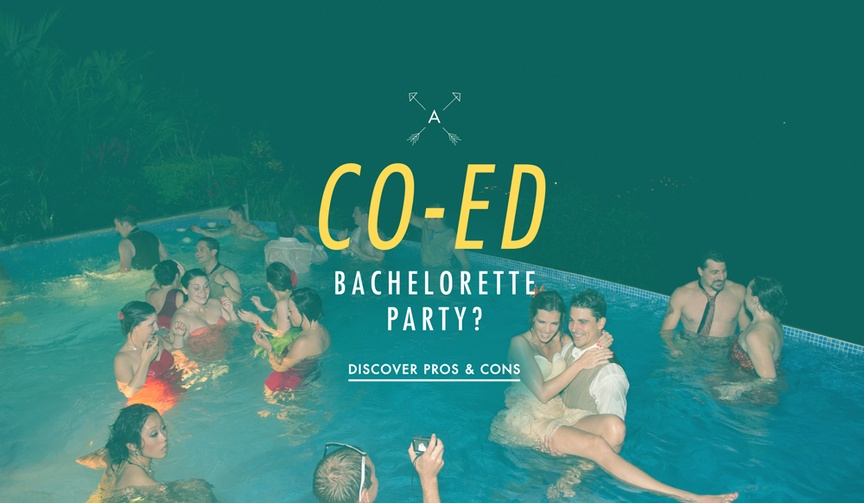 Should you host a co-ed bachelor or bachelorette party