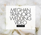 watch meghan trainor and daryl sabara wedding video