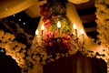 Jewish ceremony chuppah flowers