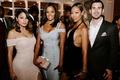 "r&b singer durrell ""tank"" babbs & zena foster wedding, actress/model Claudia Jordan wedding guest"