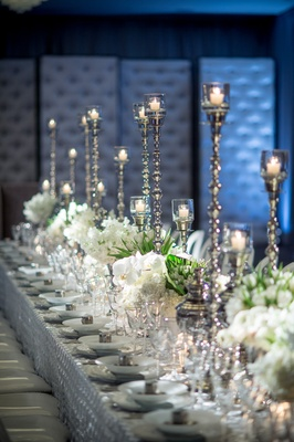 A wintery tablescape at The W Hotel DC