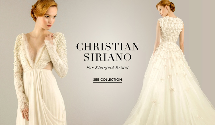 Project Runway star Christian Siriano's Kleinfeld Bridal collection