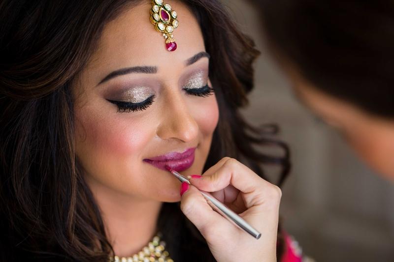 Beauty Photos Indian Wedding Bridal Makeup Inside Weddings