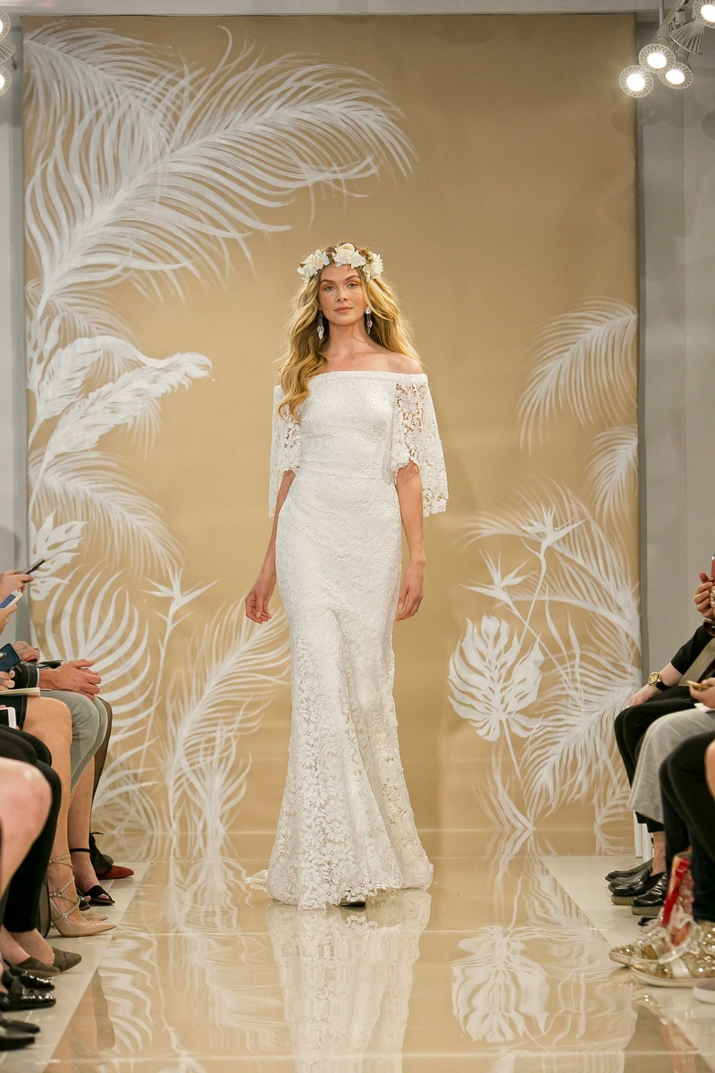 Bridal Week: Bridal Gowns Inspired by Destination Beach Brides from ...