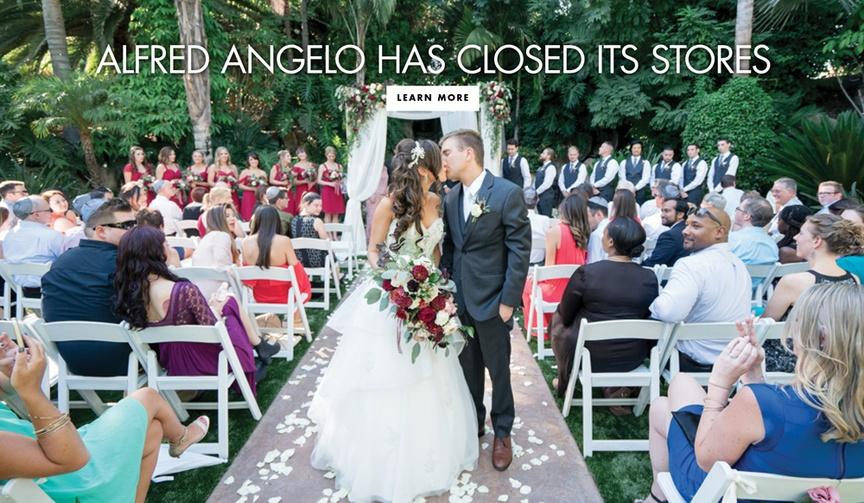 alfred angelo closing bankruptcy davids bridal wedding dress design