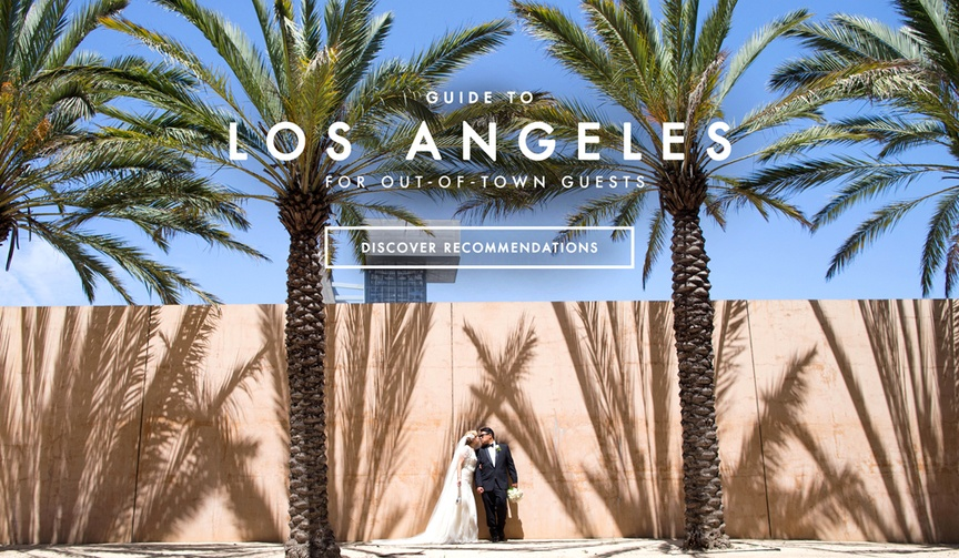 Tour of Los Angeles for Wedding Guests and Family