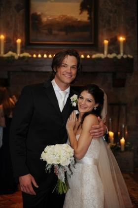 Actor Jared Padaleckis Snowy Idaho Wedding Photos Inside Weddings
