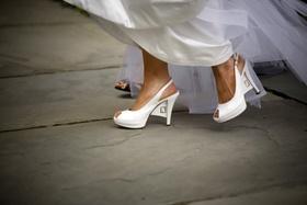 slingback shoes with webbed heel design