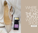 Where to find the most popular wedding shoes you've seen on pinterest and online