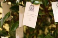 Wedding guest book alternative wish tree magnolia tree monogram tags