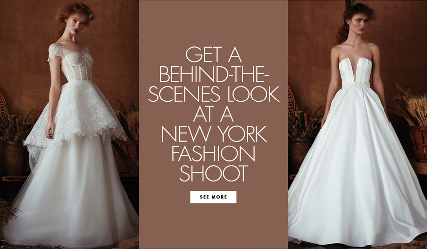 Get A Behind The Scenes BTS Look At New York Fashion Shoot For Isabelle Armstrong