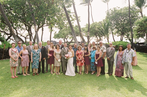 tropical romantic destination wedding in hawaii inside