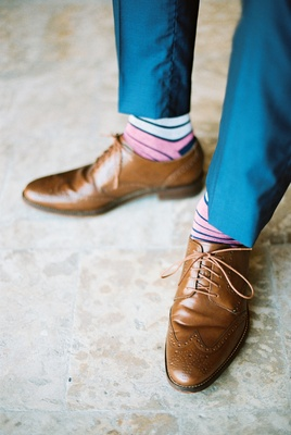 fun socks for groom and groomsmen, personalized touches for the groom