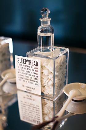 Sleepy soothing perfume scent
