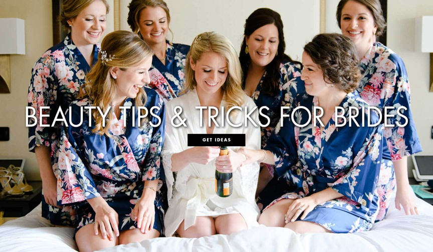 bridal beauty hacks, simple household items beauty tips