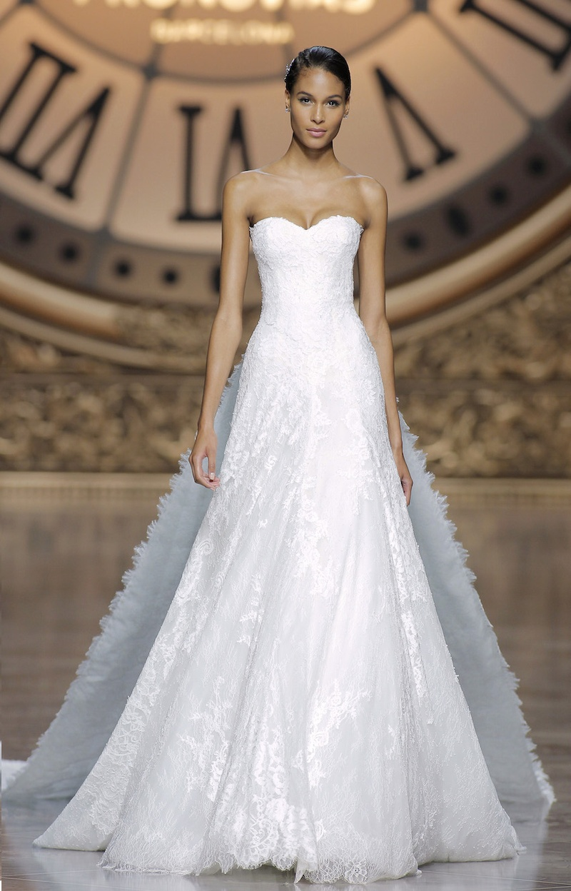 ... Pronovias Read More: http://www.insideweddings.com/news/fashion