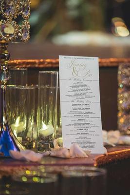pia toscano american idol jimmy ro smith jennifer lopez wedding program bridesmaids groomsmen