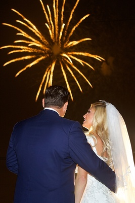 Fire Works At Wedding, New Orleans